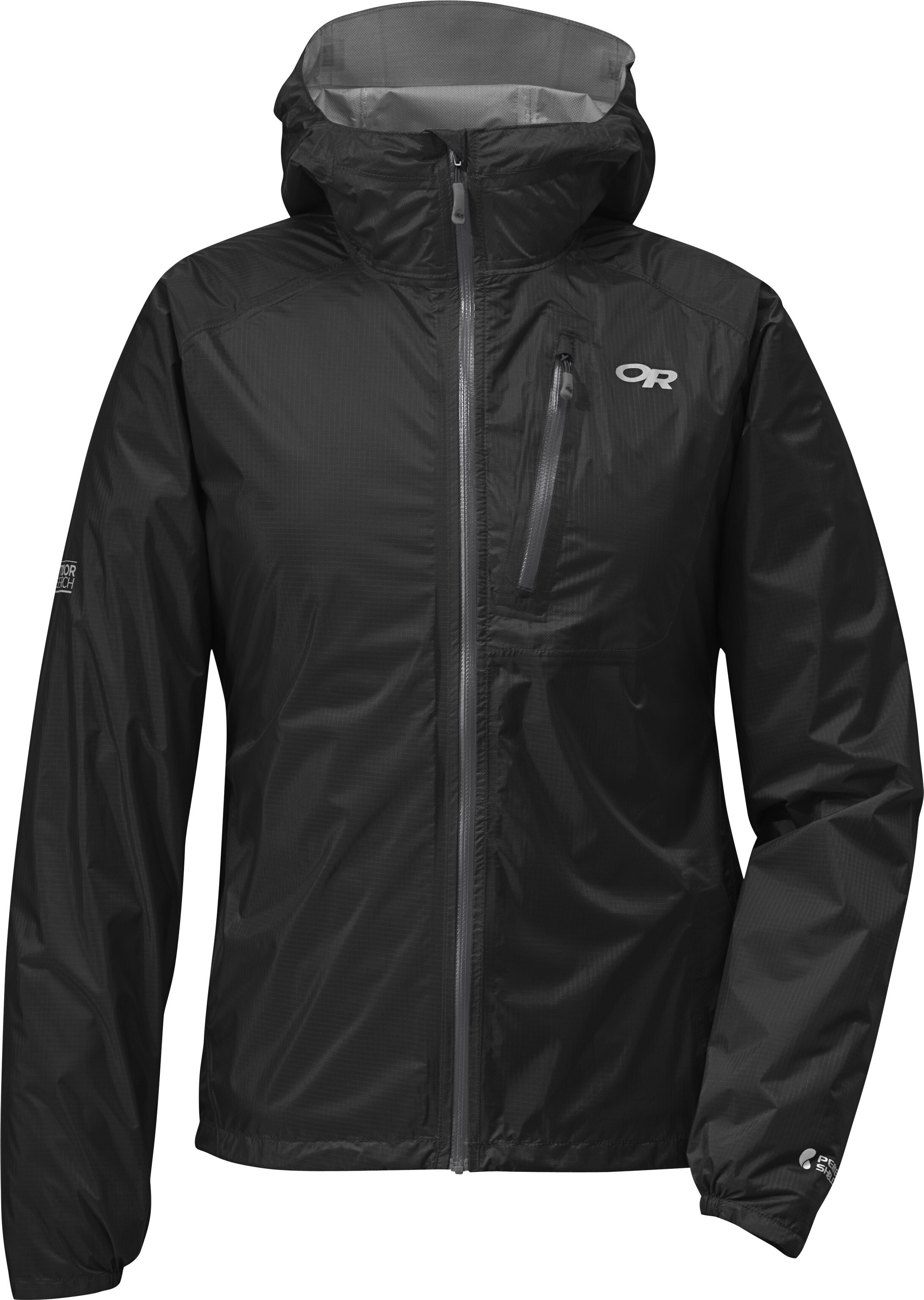 low priced 3f5c5 0f366 Outdoor Research W's Helium II Jacket Black/Charcoal